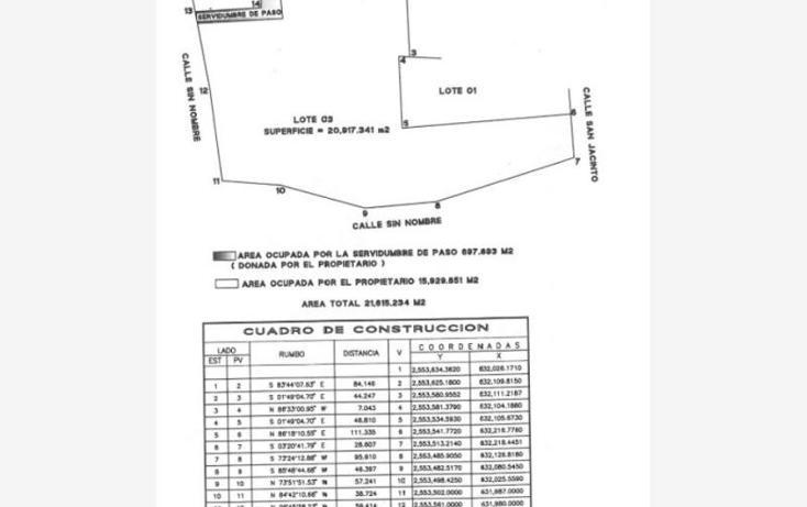 Foto de terreno comercial en venta en  lote 03manzana 84, santa rosa, los cabos, baja california sur, 1903234 No. 02