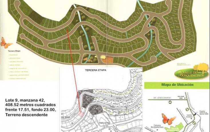 Foto de terreno habitacional en venta en lote 12 manzana 42, valle de bosquencinos 1era etapa, monterrey, nuevo león, 610777 no 01