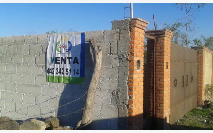 Foto de terreno habitacional en venta en  lote 2, el rosario, el marqués, querétaro, 1530728 No. 03