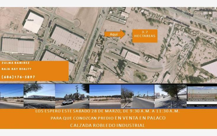 Foto de terreno industrial en venta en  lote # 3, zona industrial, mexicali, baja california, 1342025 No. 01