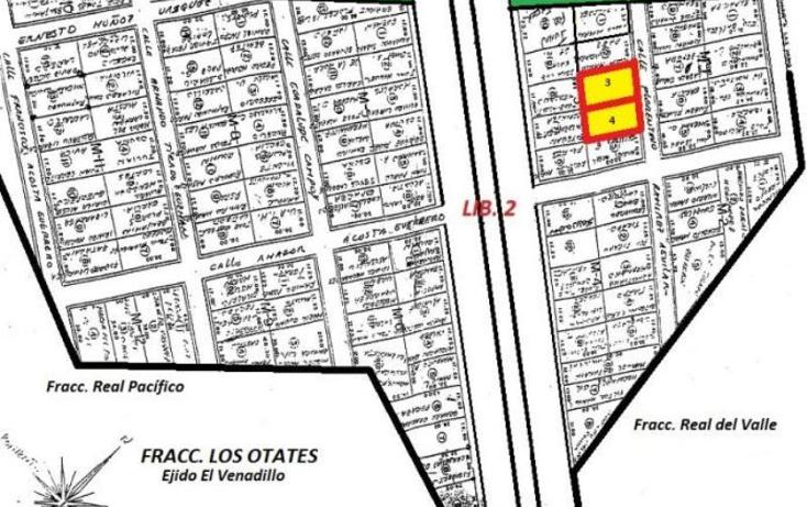 Foto de terreno habitacional en venta en  lote 4, el venadillo, mazatlán, sinaloa, 974653 No. 03