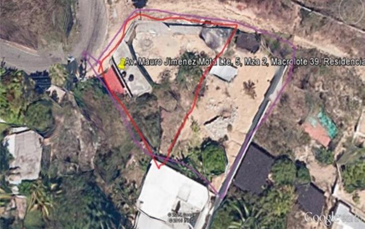 Foto de terreno habitacional en venta en  lote 5manzana 2, llano largo, acapulco de ju?rez, guerrero, 1123461 No. 01
