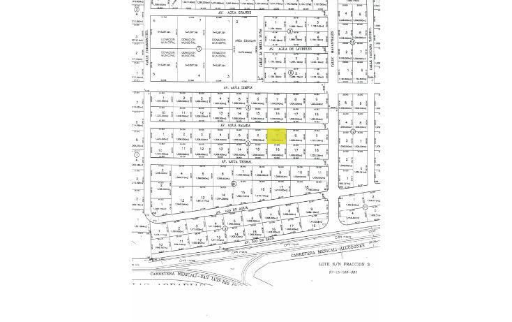Foto de terreno habitacional en venta en lote 7 manzana 5 , islas agrarias a, mexicali, baja california, 1520131 No. 03