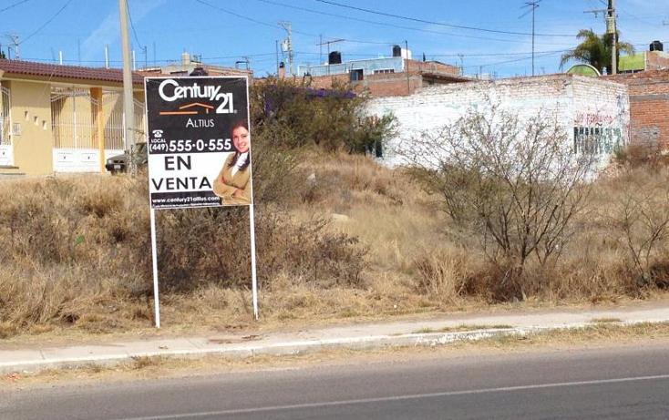 Foto de terreno habitacional en venta en  lote 7manzana 12, guadalupe posada, aguascalientes, aguascalientes, 1670840 No. 03