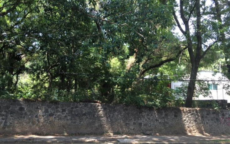 Foto de terreno habitacional en venta en  lote 8, rancho cortes, cuernavaca, morelos, 1901024 No. 01