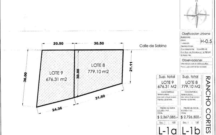 Foto de terreno habitacional en venta en  lote 9, rancho cortes, cuernavaca, morelos, 1901020 No. 06
