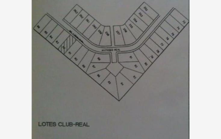 Foto de terreno habitacional en venta en  lote 92, club real, mazatlán, sinaloa, 2006922 No. 01