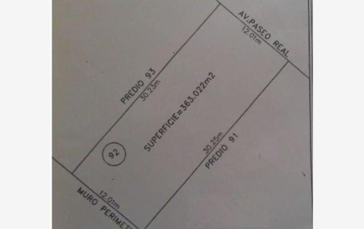 Foto de terreno habitacional en venta en  lote 92, club real, mazatlán, sinaloa, 2006922 No. 02