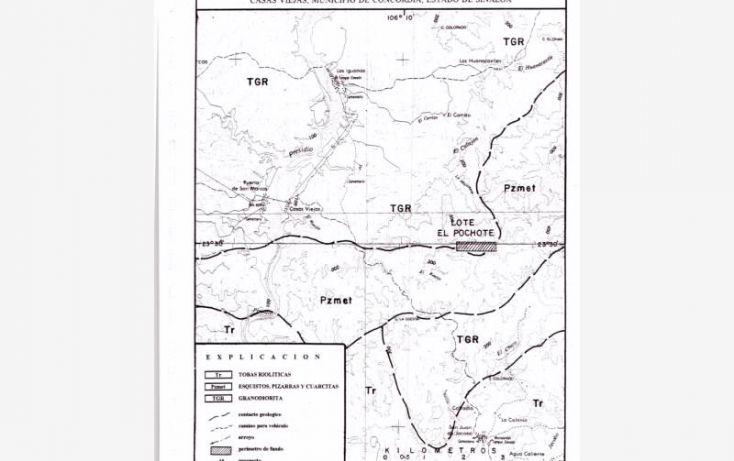 Foto de terreno comercial en venta en lote el pochote, fundo minero, 20 de enero, concordia, sinaloa, 1670536 no 06