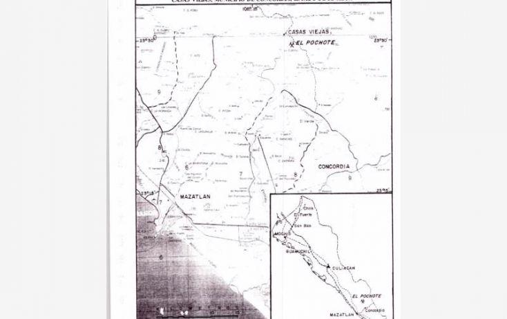 Foto de terreno comercial en venta en lote el pochote, fundo minero, 20 de enero, concordia, sinaloa, 1670536 no 07