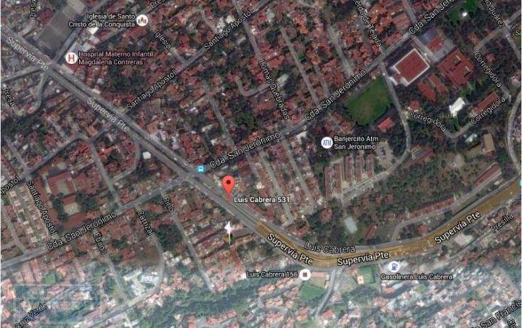 Foto de terreno habitacional en venta en luis cabrera, san jerónimo lídice, la magdalena contreras, df, 1654239 no 02