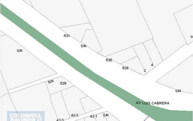 Foto de terreno habitacional en venta en luis cabrera, san jerónimo lídice, la magdalena contreras, df, 1654239 no 03