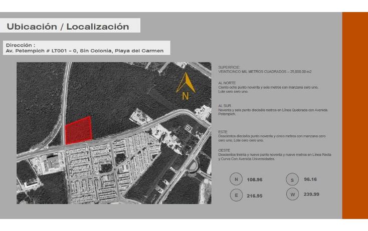 Foto de terreno comercial en venta en  , luis donaldo colosio, solidaridad, quintana roo, 1817796 No. 03