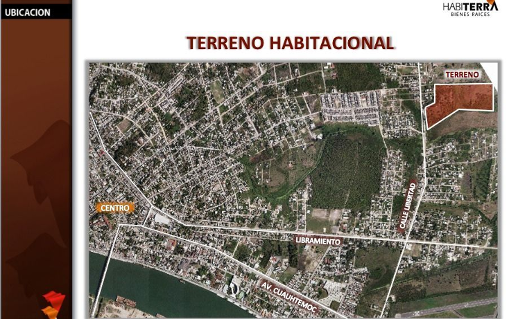 Foto de terreno habitacional en venta en  , luis donaldo colosio, tuxpan, veracruz de ignacio de la llave, 1208989 No. 01