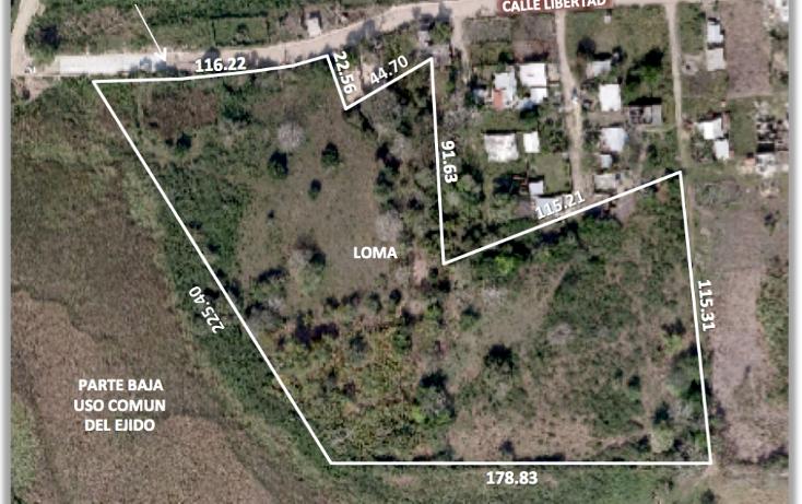Foto de terreno habitacional en venta en  , luis donaldo colosio, tuxpan, veracruz de ignacio de la llave, 1208989 No. 02