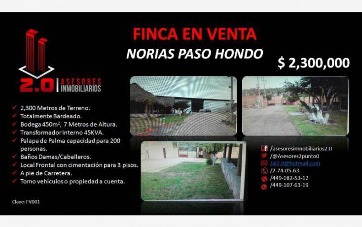 Foto de rancho en venta en, luis ortega douglas, tepezalá, aguascalientes, 1824644 no 01