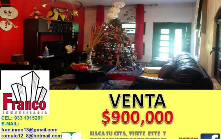 Foto de casa en venta en macuilis, ecológica lic carlos a madrazo becerra, comalcalco, tabasco, 1651800 no 01