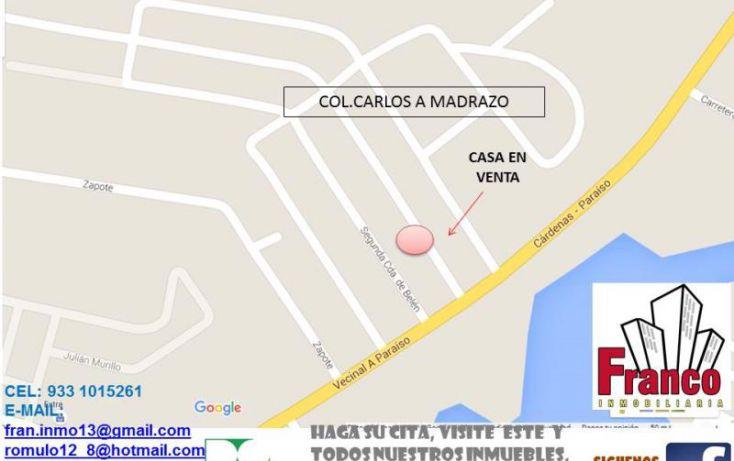 Foto de casa en venta en macuilis, ecológica lic carlos a madrazo becerra, comalcalco, tabasco, 1651800 no 02