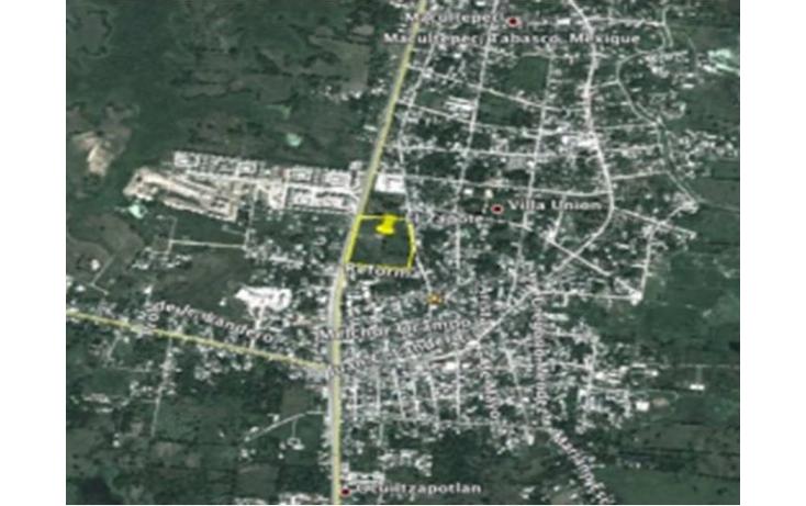 Foto de terreno comercial en venta en macultepec 250, villa unión, centro, tabasco, 561368 no 02
