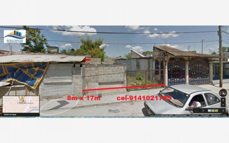 Foto de terreno habitacional en venta en macuspana centro juan aldama 1, josefa ortiz de dominguez, macuspana, tabasco, 1761464 no 01