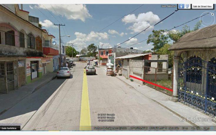 Foto de terreno habitacional en venta en macuspana centro juan aldama 1, josefa ortiz de dominguez, macuspana, tabasco, 1761464 no 04