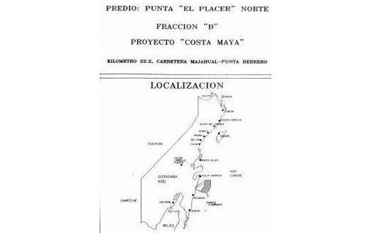 Foto de terreno habitacional en venta en  , mahahual, othón p. blanco, quintana roo, 1499555 No. 06