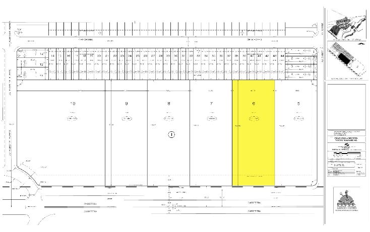 Foto de terreno comercial en venta en  , mahahual, oth?n p. blanco, quintana roo, 1500209 No. 02
