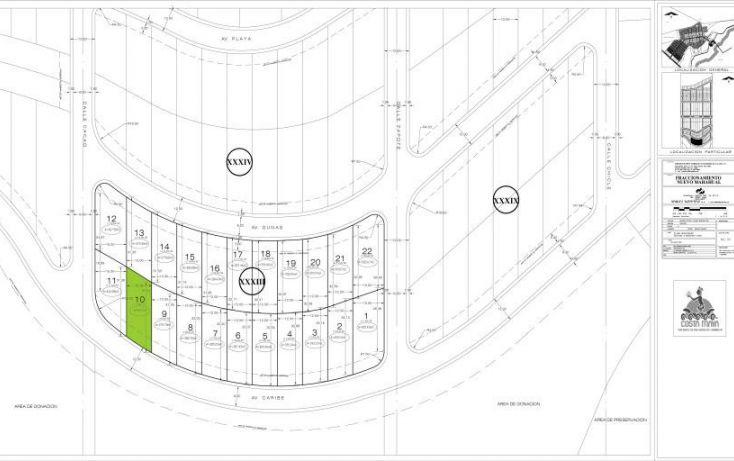 Foto de terreno habitacional en venta en, mahahual, othón p blanco, quintana roo, 1501545 no 02