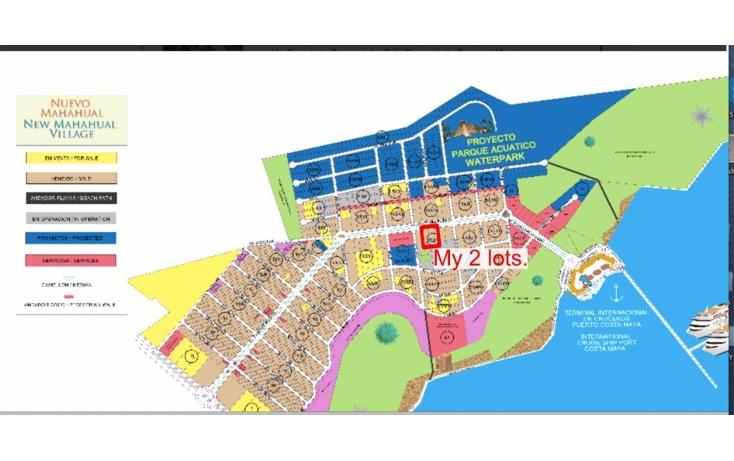Foto de terreno habitacional en venta en  , mahahual, oth?n p. blanco, quintana roo, 2044757 No. 02