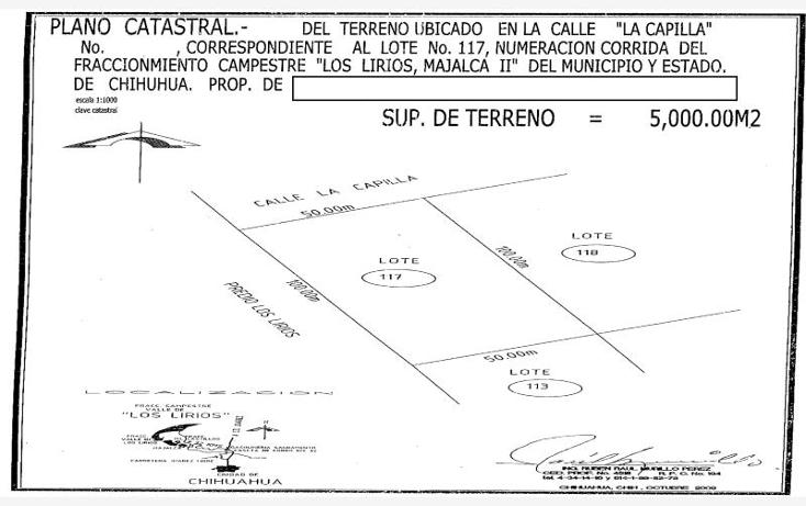 Foto de terreno habitacional en venta en  , majalca, chihuahua, chihuahua, 610676 No. 12