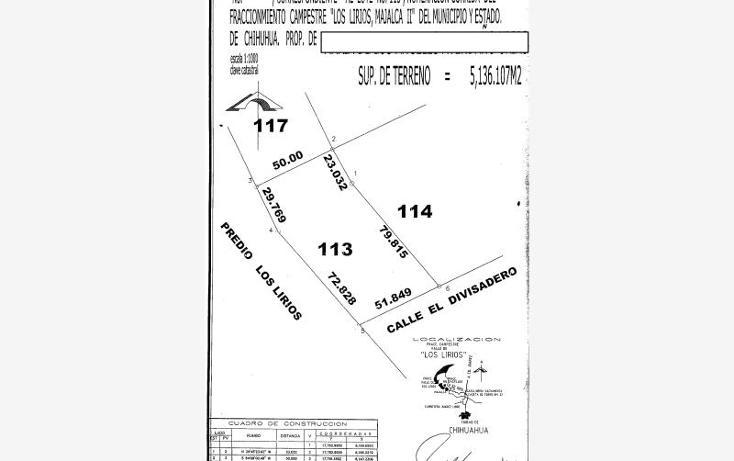 Foto de terreno habitacional en venta en  , majalca, chihuahua, chihuahua, 610676 No. 13