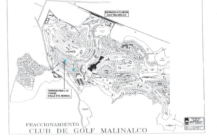Foto de terreno habitacional en venta en  , malinalco, malinalco, m?xico, 1289799 No. 02