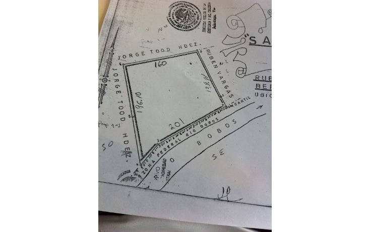 Foto de terreno comercial en venta en  , maloapan i, mart?nez de la torre, veracruz de ignacio de la llave, 1612794 No. 03