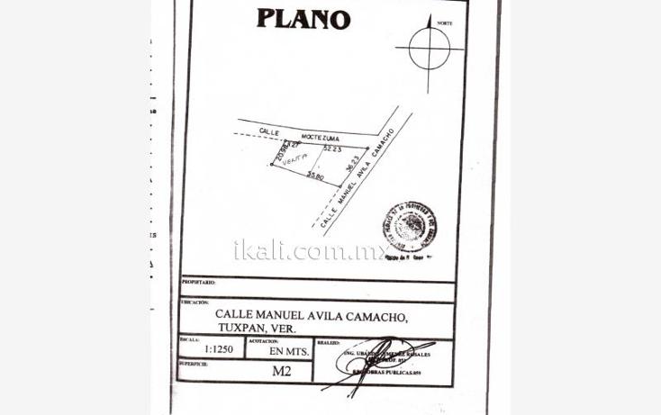 Foto de terreno habitacional en venta en manuel avila camacho nonumber, del valle, tuxpan, veracruz de ignacio de la llave, 2024904 No. 08