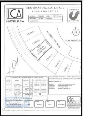 Foto de terreno comercial en venta en  , centro sur, querétaro, querétaro, 1788754 No. 06