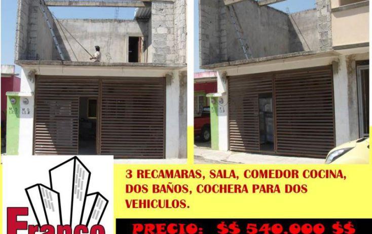 Foto de casa en venta en manuel gurria ordoñes, gobernadores, comalcalco, tabasco, 1082601 no 02