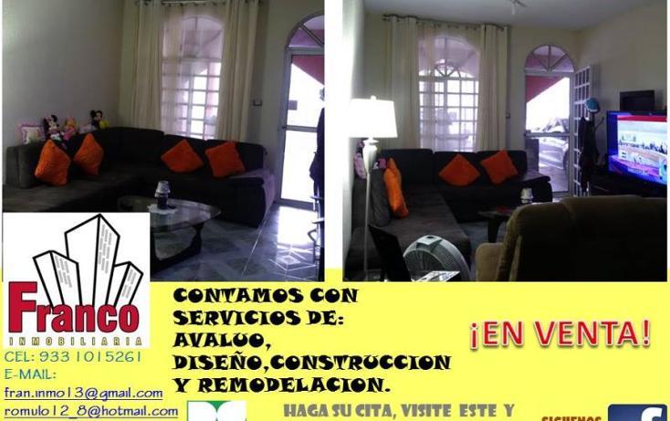 Foto de casa en venta en licenciado carlos salinas de gortari manzana 12lote 42, solidaridad nacional a c, comalcalco, tabasco, 1535980 No. 03