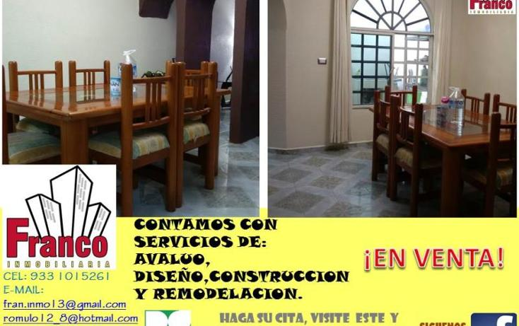Foto de casa en venta en  manzana 12lote 42, solidaridad nacional a c, comalcalco, tabasco, 1535980 No. 04