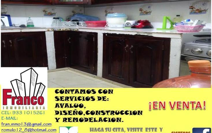 Foto de casa en venta en  manzana 12lote 42, solidaridad nacional a c, comalcalco, tabasco, 1535980 No. 06