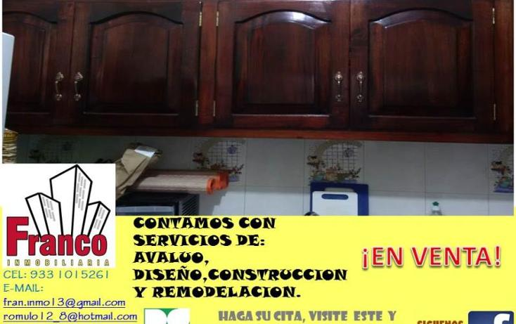 Foto de casa en venta en licenciado carlos salinas de gortari manzana 12lote 42, solidaridad nacional a c, comalcalco, tabasco, 1535980 No. 07