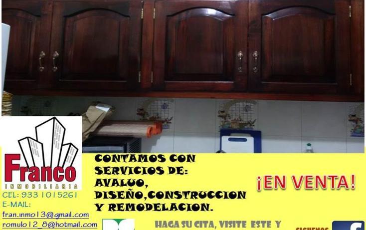 Foto de casa en venta en  manzana 12lote 42, solidaridad nacional a c, comalcalco, tabasco, 1535980 No. 07