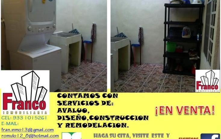 Foto de casa en venta en  manzana 12lote 42, solidaridad nacional a c, comalcalco, tabasco, 1535980 No. 08