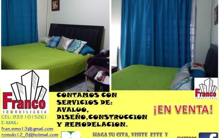 Foto de casa en venta en  manzana 12lote 42, solidaridad nacional a c, comalcalco, tabasco, 1535980 No. 09