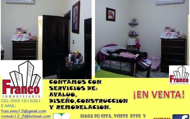 Foto de casa en venta en  manzana 12lote 42, solidaridad nacional a c, comalcalco, tabasco, 1535980 No. 10