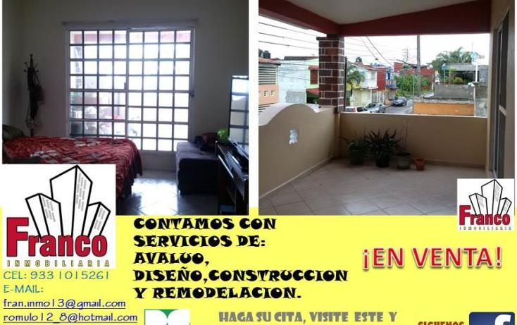 Foto de casa en venta en licenciado carlos salinas de gortari manzana 12lote 42, solidaridad nacional a c, comalcalco, tabasco, 1535980 No. 11