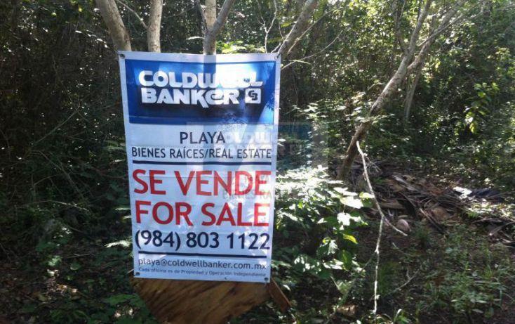 Foto de terreno habitacional en venta en manzana 186, tulum centro, tulum, quintana roo, 1592724 no 02