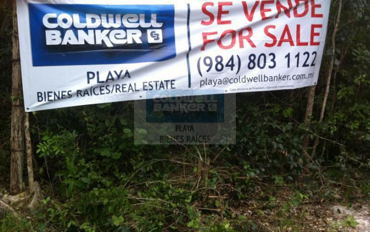 Foto de terreno habitacional en venta en manzana 186, tulum centro, tulum, quintana roo, 1592724 no 03