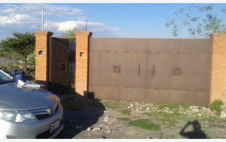 Foto de terreno habitacional en venta en manzana 51 lote 2, el rosario, el marqués, querétaro, 1530728 No. 01