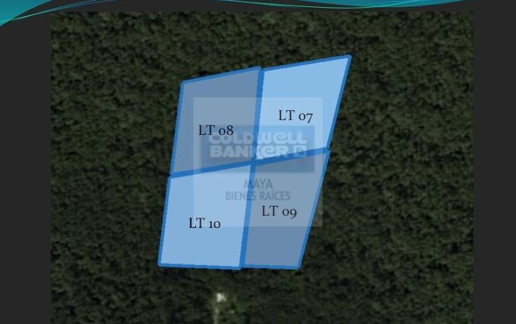 Foto de terreno habitacional en venta en  10, tulum centro, tulum, quintana roo, 332427 No. 01