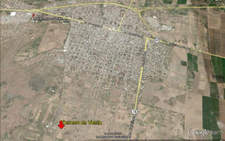 Foto de terreno comercial en venta en, maravillas, matamoros, coahuila de zaragoza, 960331 no 01